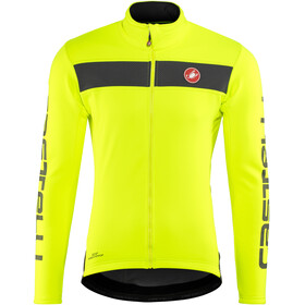 Castelli Raddoppia Jacket Men yellow fluo/reflex